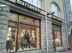 Marimekko - Tampere - www. Marimekko, Shops, Shopping, Tents, Retail, Retail Stores