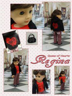 Regina - Queen of Hearts  custom American Girl