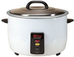 Discounted deals on Aroma 60-Cup (Cooked) Commercial Rice Cooker, White. For more information about this commercial rice cooker and low priced offers click here.
