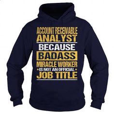 ACCOUNT RECEIVABLE ANALYST - NINJA #hoodie #style. I WANT THIS => https://www.sunfrog.com/LifeStyle/ACCOUNT-RECEIVABLE-ANALYST--NINJA-Navy-Blue-Hoodie.html?id=60505