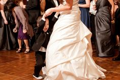 Reception: Dancing with the ring bearer