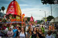 38th Annual Los Angeles Rathyatra at Venice Beach, LA (Aug 3, 2014) (Album 135 photos)