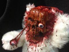 Horror Zombie Teddy Bear
