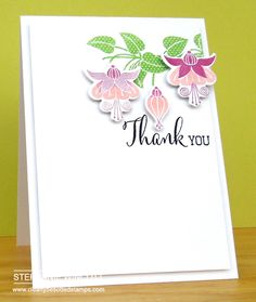 Clearly Besotted Stamps Fabulous Fuchsias | Clearly Besotted Stamps