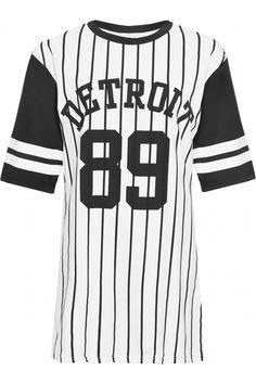 Abbigail Detroit 89 Baseball Top   WearAll