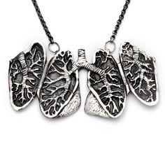 Anatomical lung locket