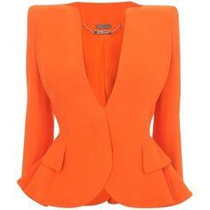 orange dress coats - Google Search