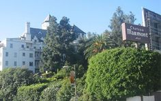 Chateau Marmont Hotel and Restaurant is a Fine Dining Restaurant in Los Angeles. Plan your road trip to Chateau Marmont Hotel and Restaurant in CA with Roadtrippers. Haunted Hotel, Most Haunted, Haunted Places, Abandoned Places, Hollywood Hotel, Hollywood California, West Hollywood, Rock And Roll Hotel, Living In Washington Dc