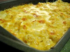 Cauliflower 'Mac' and Cheese