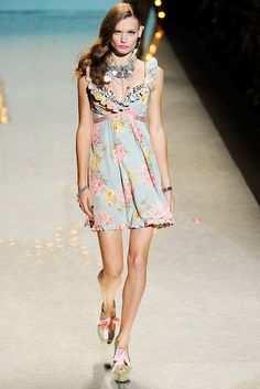 Betsey Johnson Spring/Summer 2012 Fashion Week | Couture and the City Gossip Blog