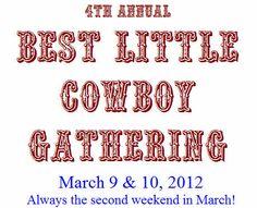Best Little Cowboy Gathering of LaGrange, Texas