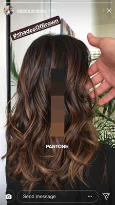 New hairstyle and color ideas for 2019 - Just Trendy Girls: ideas . - Frisuren Haare Schritt New hairstyle and color ideas for 2019 – Just Trendy Girls: ideas … Brown Hair Balayage, Hair Color Balayage, Bayalage, Brown Balyage, Caramel Balayage Brunette, Carmel Balayage, Balayage Diy, Balayage Hair Brunette Caramel, Balyage For Dark Hair