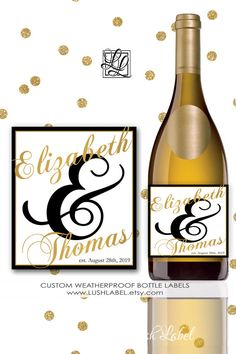 Engagement Party Wedding Cheers Wine Champagne Wedding Rehearsal Dinner Night Custom Personalized Unique Party Favors Decor Gift Idea #EP1 ♥ How to Place Your Order ♥ Please leave the following details in 'Notes to Seller' area, at checkout, when you place or order: (If Applicable or Desired) • Names & Date • If you would like any color changes and the color (ie A1) • NEED LABELS BY Date (very important if you have an event coming up soon) • Proof upon request • Any other notes ♥ Extra N...