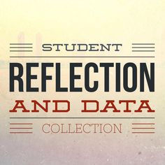 The Middle School Counselor: Student Reflection and Data Collection Middle School Counselor, School Counseling, What Is Reflection, Student Data Tracking, Program Evaluation, Data Notebooks, School Social Work, Data Collection, Too Cool For School