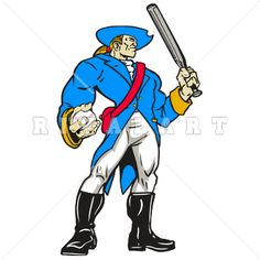 Clip Art Patriot Clipart mascot clipart image of patriots black white graphic browse and download patriot on available in vector raster formats customization every detail