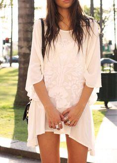 White tunics.