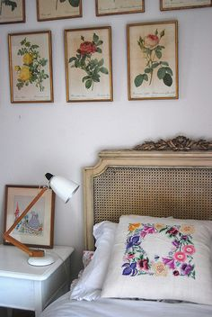 Vintage florals by leah halliday.
