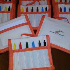 Malitinhas de pintura para a escola Casinha Pequenina.