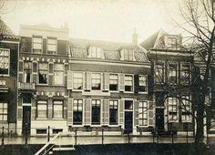 De panden Nieuwegracht 66-70 te Utrecht