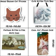 Awesome Cat Stuff from CritterVille shop @ Redbubble