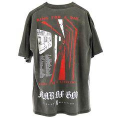 FEAR OF GOD VINTAGE T-SHIRT / BLACK