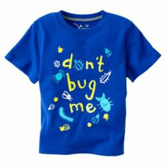 """Jumping Beans® """"Don't Bug Me"""" Tee - Toddler at Kohl's"""
