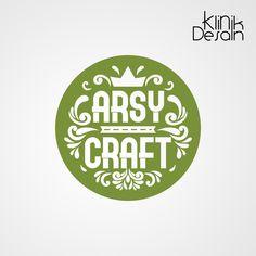 Desain Logo Arsy Craft oleh Klinik Desain Ku. Jasa Desain Sahabat UMKM Craft Logo, Logo Design, Logos, Crafts, Home Decor, Manualidades, Decoration Home, Room Decor, Logo