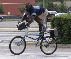 Odd Way to Ride a Bike - Jokeroo