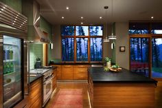 Compact mountain home in Montana boasts sustainable features