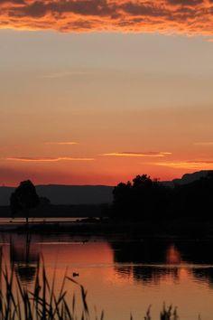 Sunset on the #Hartbeespoortdam, Northwest Province, South Africa.