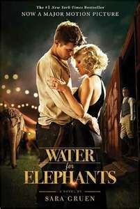 Water for Elephants, one of my favorites. Transport yourself back in time to 1931 and witness love, drama and the world of the circus in America. Check the movie out starring Reese witherspoon and Robert Pattinson.