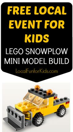 Build A Free Lego Snowplow This January 2017 7th