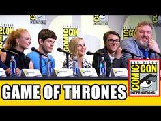 GAME OF THRONES Comic Con Panel (Part 1) - Sophie Turner, Iwan Rheon, Kristian Nairn & Season 7 News - YouTube