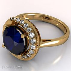 3D Jewelry Design: Engagement Ring, Modern style [2549-91681] » Jewelrythis