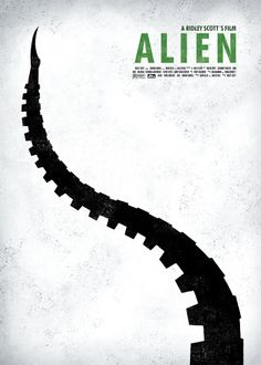 "Alien ""Sci-Fi Movie Poster Serie"""
