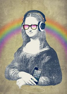 Modern Lisa: a new twist to the classic icon