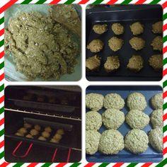 Healthy oatmeal cookies:)