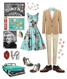 """""""OLD LOVE"""" by yolanda-nevia ❤ liked on Polyvore featuring Pottery Barn, Joseph, Incotex, John W. Nordstrom, Prada, Journee Collection, Salvatore Ferragamo, Lime Crime and Vintage"""