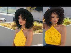 My Crochet Dream Crochet Summer Tops, Crochet Halter Tops, Crochet Shorts, Crochet Crop Top, Crochet Cardigan, Crochet Clothes, Crochet Bikini, Crochet 101, Crochet Videos