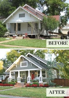 Borrow from these before-and-afters and give the neighbors something to talk about