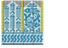 Crochet Mittens Free Pattern, Knit Mittens, Knitted Gloves, Knitting Socks, Knit Crochet, Knitting Charts, Knitting Patterns, Knit Art, Graph Design