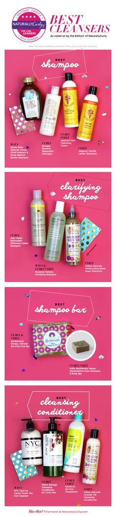 Natural Hair Shampoos