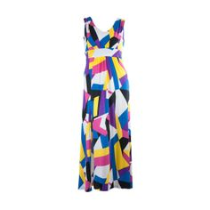 #Jenn Cubic Printed Maxi Dress