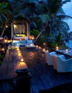 Probably the most exclusive island resort in the Seychelles, and maybe the world, the magnificent North Island is a genuine tropical paradise with all the comforts of home and the opulence of a full service hotel. Vacation Destinations, Dream Vacations, Vacation Spots, Romantic Places, Beautiful Places, Romantic Night, Beautiful Hotels, Interior Tropical, The Places Youll Go