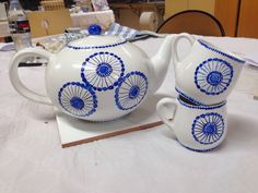 Service Tea Pots, Tableware, Dinnerware, Dishes, Place Settings, Tea Pot, Tea Kettles