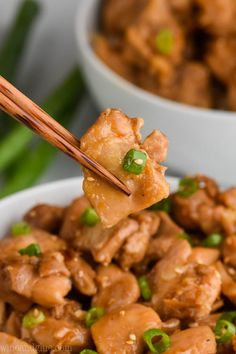 Best Anytime bourbon chicken marinade recipe only on this page Chicken Recipes Food Network, Chicken Mushroom Recipes, Chicken Marinade Recipes, Chicken Noodle Recipes, Sauce For Chicken, Best Chicken Recipes, Food Court Bourbon Chicken Recipe, Honey Garlic Chicken Thighs, Stuffed Peppers