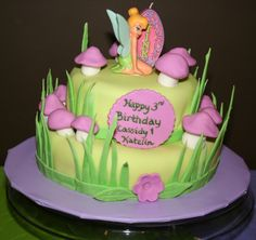 Tinkerbell Birthday Cakes On Tinker Bell Party Is Not