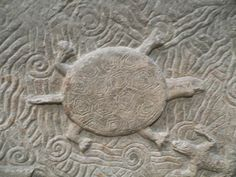 Ancient Persian  Louvre Museum - Summerian relief carving of turtle