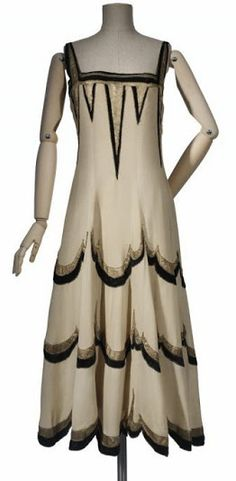 Vionnet Dress - Winter 1924 - by Madeleine Vionnet (French, 1876-1975)