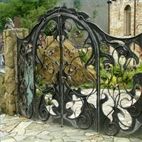 Lovely garden gate.